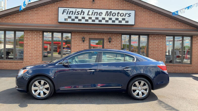 2011 Buick LaCrosse for sale at FINISHLINE MOTORS in Canton OH
