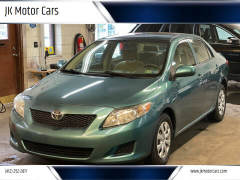 2010 Toyota Corolla for sale at JK Motor Cars in Pittsburgh PA