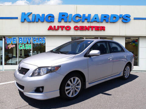 2009 Toyota Corolla for sale at KING RICHARDS AUTO CENTER in East Providence RI