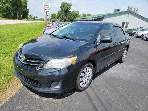 2013 Toyota Corolla for sale at Pack's Peak Auto in Hillsboro OH