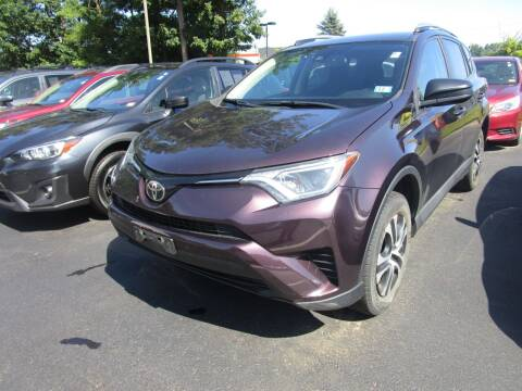 2017 Toyota RAV4 for sale at BELKNAP SUBARU in Tilton NH