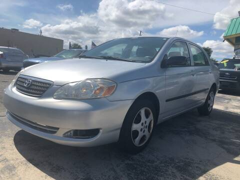 2008 Toyota Corolla for sale at Trans Copacabana Auto Sales in Hollywood FL