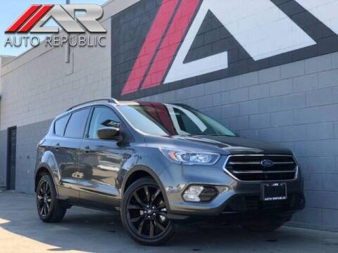 2018 Ford Escape for sale at Auto Republic Fullerton in Fullerton CA