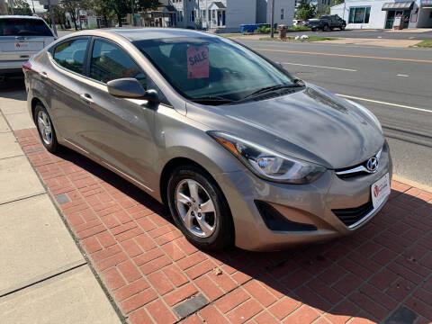 2014 Hyundai Elantra for sale at Viscuso Motors in Hamden CT