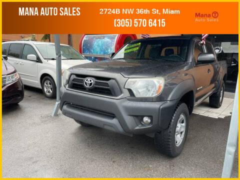 2013 Toyota Tacoma for sale at MANA AUTO SALES in Miami FL