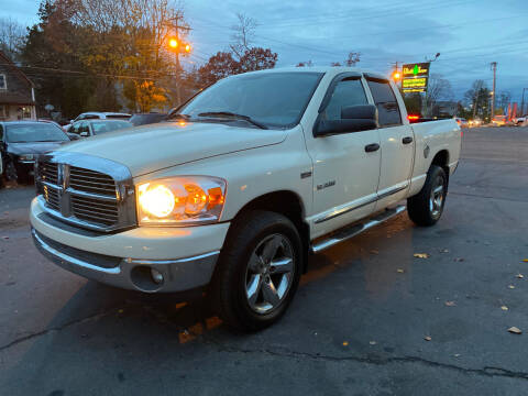 2008 Dodge Ram Pickup 1500 for sale at Irving Auto Sales in Whitman MA