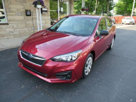 2018 Subaru Impreza for sale at Lake County Auto Sales in Painesville OH