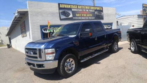2009 Ford F-250 Super Duty for sale at Advantage Motorsports Plus in Phoenix AZ