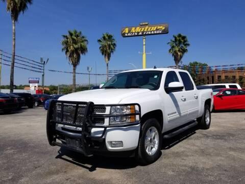 2012 Chevrolet Silverado 1500 for sale at A MOTORS SALES AND FINANCE in San Antonio TX