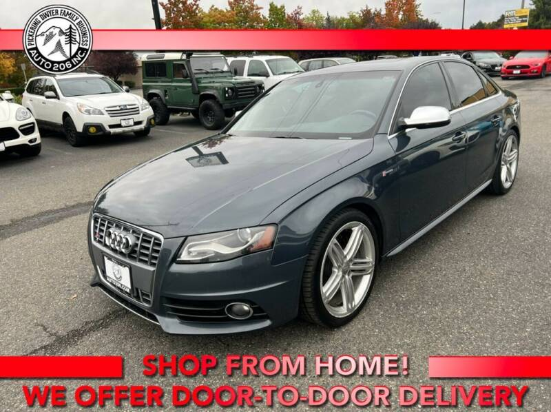 2011 Audi S4 for sale at Auto 206, Inc. in Kent WA