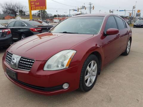2005 Nissan Maxima for sale at Nile Auto in Fort Worth TX