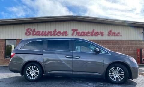 2013 Honda Odyssey for sale at STAUNTON TRACTOR INC in Staunton VA