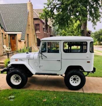 1970 Toyota Land Cruiser for sale at Classic Car Deals in Cadillac MI