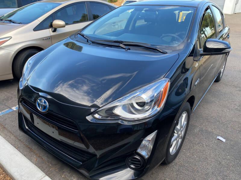2015 Toyota Prius c for sale at Cars4U in Escondido CA