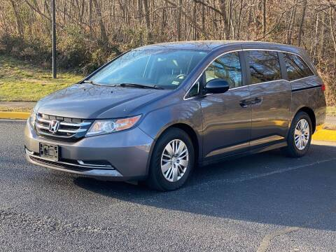 2015 Honda Odyssey for sale at Diamond Automobile Exchange in Woodbridge VA