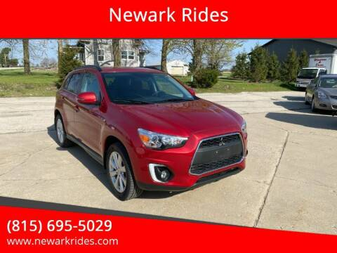 2015 Mitsubishi Outlander Sport for sale at Newark Rides in Newark IL
