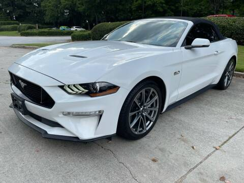 2018 Ford Mustang for sale at United Luxury Motors in Stone Mountain GA