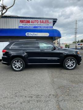 2015 Jeep Grand Cherokee for sale at PORTLAND AUTO SALES LLC. in Portland OR
