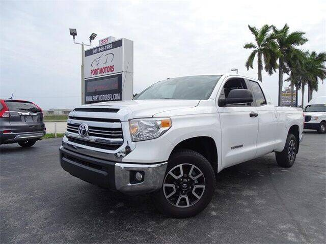 2017 Toyota Tundra for sale at Automotive Credit Union Services in West Palm Beach FL