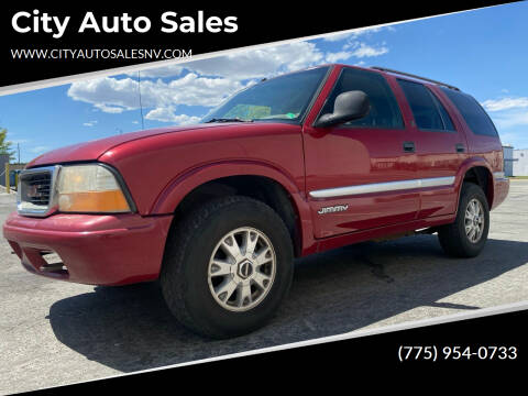 1998 GMC Envoy for sale at City Auto Sales in Sparks NV
