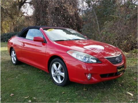 2006 Toyota Camry Solara for sale at KARS R US in Modesto CA