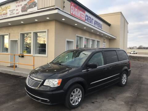 2014 Chrysler Town and Country for sale at Suarez Auto Sales in Port Huron MI