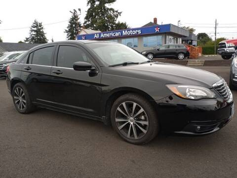 2011 Chrysler 200 for sale at All American Motors in Tacoma WA