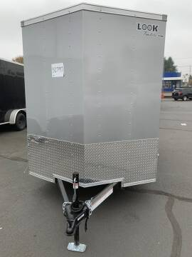 2021 Look Cargo Trailers lscaa.60x10s12fc for sale at Siamak's Car Company llc in Salem OR
