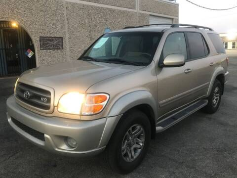 2003 Toyota Sequoia for sale at Evolution Motors LLC in Dallas TX