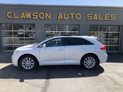 2011 Toyota Venza for sale at Clawson Auto Sales in Clawson MI
