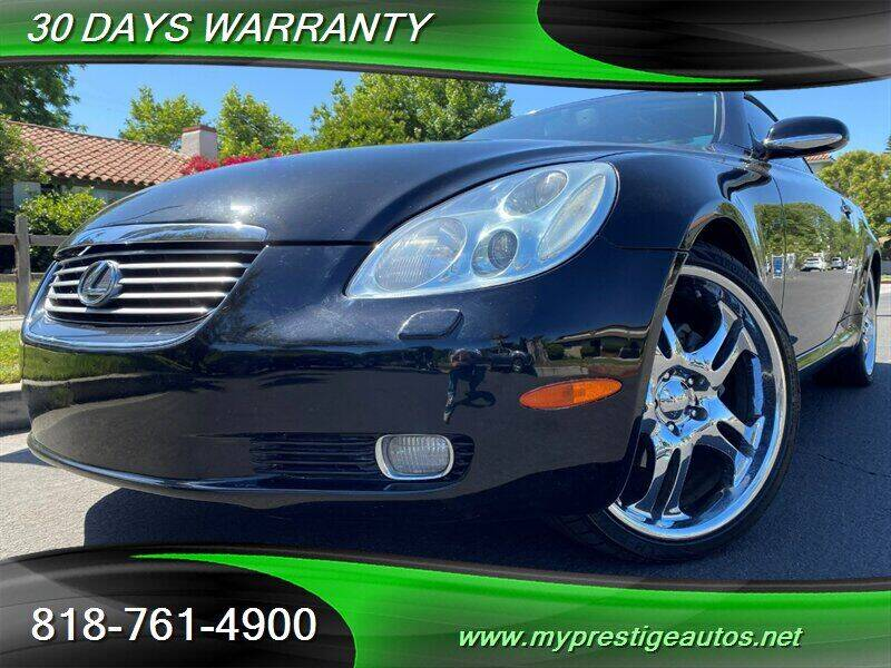 2002 Lexus SC 430 for sale at Prestige Auto Sports Inc in North Hollywood CA