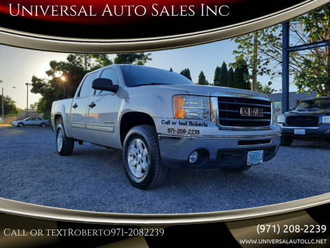 2009 GMC Sierra 1500 for sale at Universal Auto Sales Inc in Salem OR