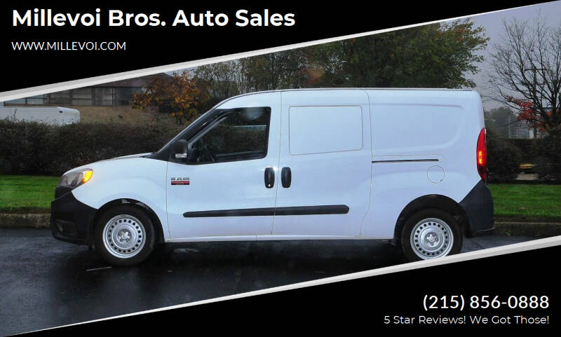2015 RAM ProMaster City Cargo for sale at Millevoi Bros. Auto Sales in Philadelphia PA
