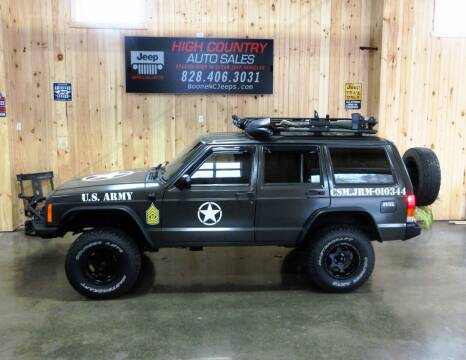 1999 Jeep Cherokee for sale at Boone NC Jeeps-High Country Auto Sales in Boone NC