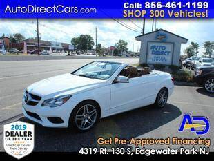 2014 Mercedes-Benz E-Class for sale at Auto Direct Trucks.com in Edgewater Park NJ