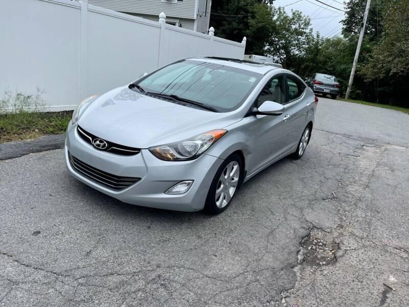 2013 Hyundai Elantra for sale at MOTORS EAST in Cumberland RI