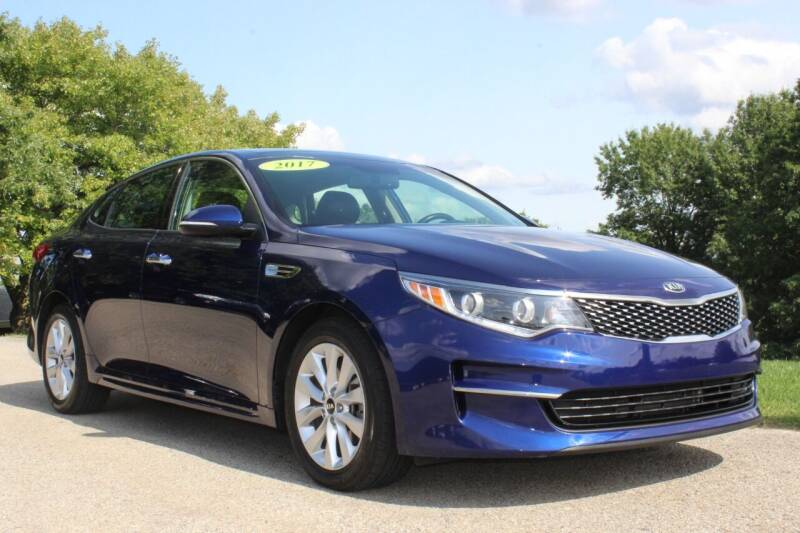 2017 Kia Optima for sale at Harrison Auto Sales in Irwin PA