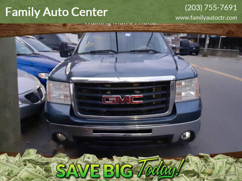 2008 GMC Sierra 2500HD for sale at Family Auto Center in Waterbury CT