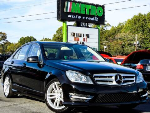 2012 Mercedes-Benz C-Class for sale at Used Imports Auto - Metro Auto Credit in Smyrna GA