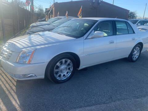 2010 Cadillac DTS for sale at FAIR DEAL AUTO SALES INC in Houston TX