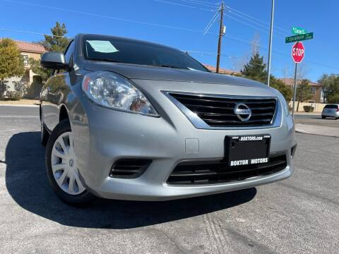 2014 Nissan Versa for sale at Boktor Motors in Las Vegas NV
