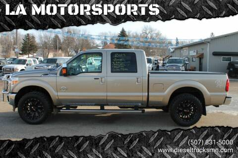 2013 Ford F-250 Super Duty for sale at LA MOTORSPORTS in Windom MN