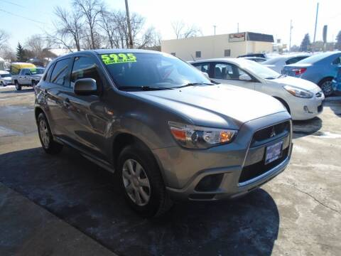 2012 Mitsubishi Outlander Sport for sale at DISCOVER AUTO SALES in Racine WI