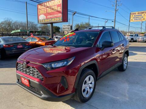 2019 Toyota RAV4 for sale at Alejandro Cars & Trucks in Houston TX