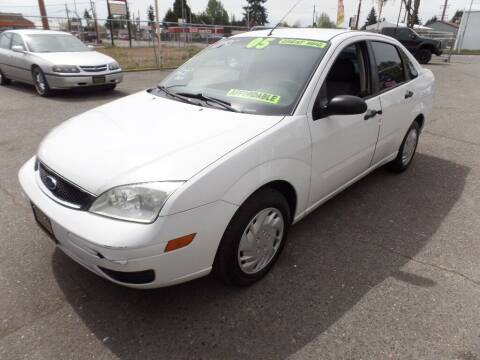 2005 Ford Focus for sale at Gold Key Motors in Centralia WA