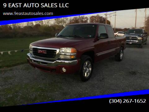 2004 GMC Sierra 1500 for sale at 9 EAST AUTO SALES LLC in Martinsburg WV