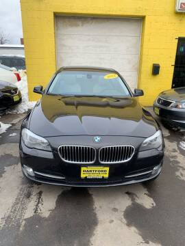 2012 BMW 5 Series for sale at Hartford Auto Center in Hartford CT