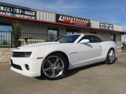 2011 Chevrolet Camaro for sale at Lightning Motorsports in Grand Prairie TX