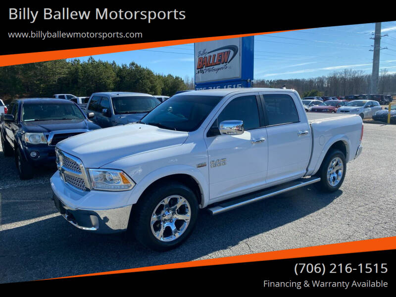 2015 RAM Ram Pickup 1500 for sale at Billy Ballew Motorsports in Dawsonville GA