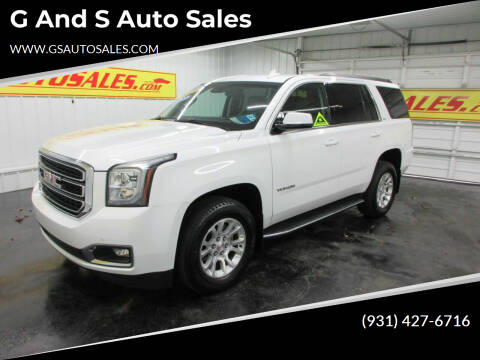 2018 GMC Yukon for sale at G and S Auto Sales in Ardmore TN